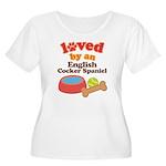 English Cocker Spaniel Dog Gift Women's Plus Size