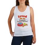 English Cocker Spaniel Dog Gift Women's Tank Top