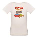 English Shepherd Dog Gift Organic Baby T-Shirt