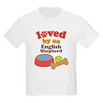 English Shepherd Dog Gift Kids Light T-Shirt