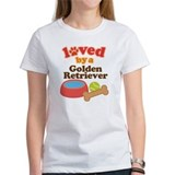 Golden Retriever Dog Gift Tee