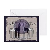 Great dane christmas cards Greeting Cards (10 Pack)
