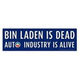 Navy Bin Laden is Dead Bumper Sticker