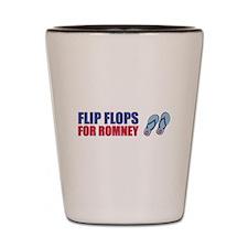 Flip Flops for Romney Shot Glass
