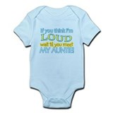LOUD AUNTIE Infant Bodysuit