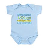 Loud aunt Bodysuits