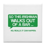 Irishman Tile Coaster