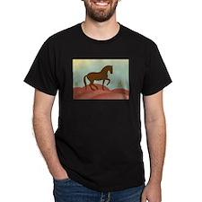desert dressage Black T-Shirt