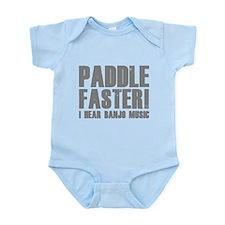 Paddle Faster ! Infant Bodysuit