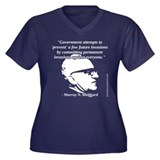 Murray N. Rothbard - Government Women's Plus Size