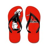 Piss on Countrymusic Flip Flop designs Flip Flops