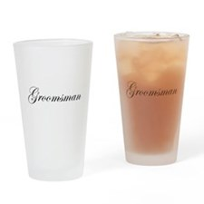 Groomsman.png Drinking Glass