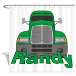 Trucker Randy Shower Curtain