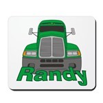 Trucker Randy Mousepad