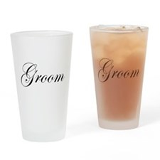 Groom.png Drinking Glass
