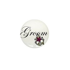 Groom Anchor.png Mini Button (10 pack)