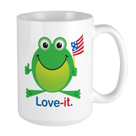 Love-it Frog Large Mug