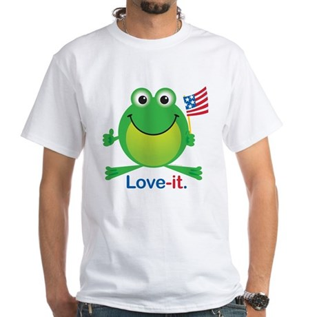 Love-it Frog White T-Shirt