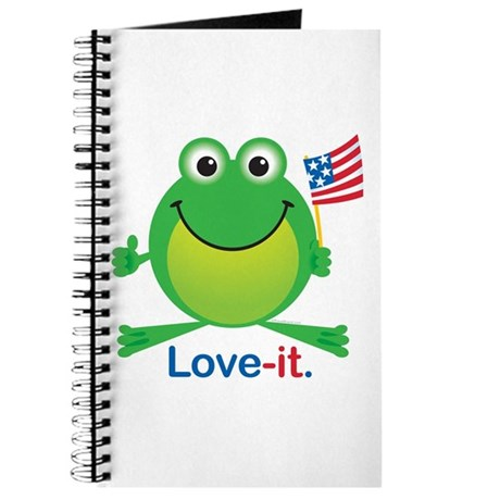 Love-it Frog Journal