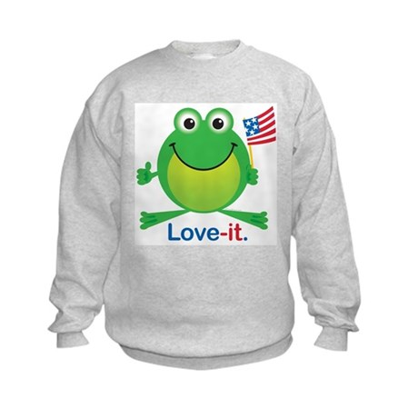 Love-it Frog Kids Sweatshirt