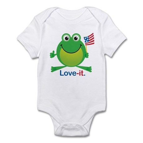 Love-it Frog Infant Bodysuit