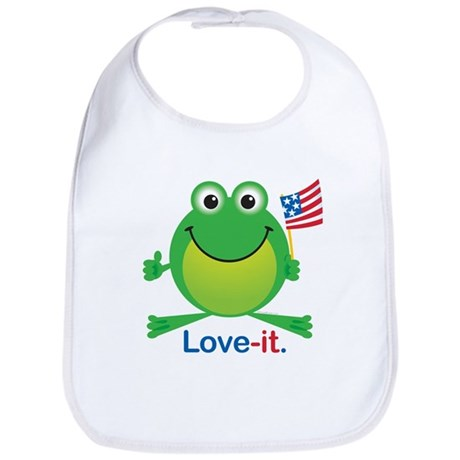 Love-it Frog Bib