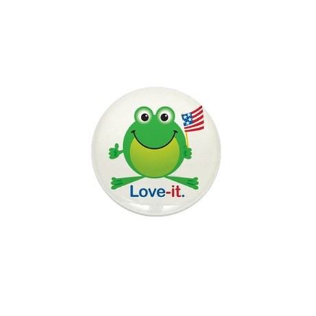 Love-it Frog Mini Button (10 pack)