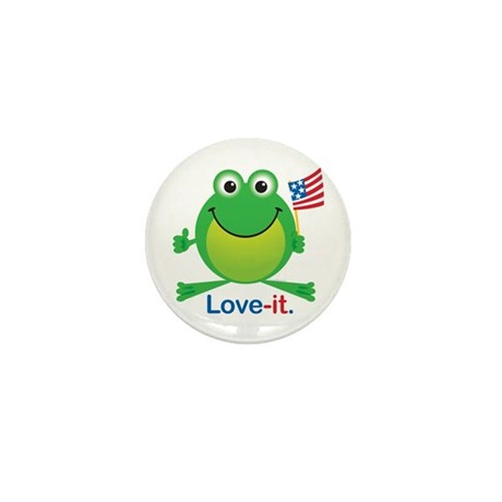 Love-it Frog Mini Button