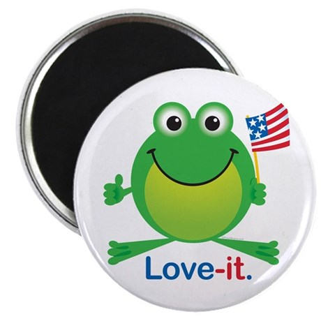 "Love-it Frog 2.25"" Magnet (100 pack)"