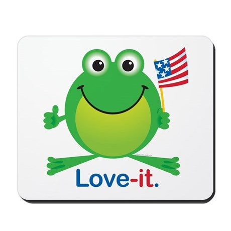Love-it Frog Mousepad