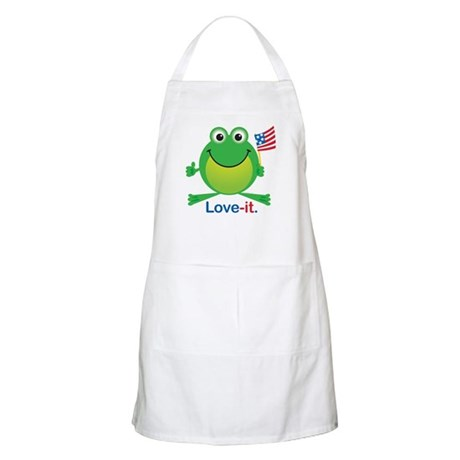 Love-it Frog BBQ Apron