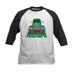 Trucker Richard Kids Baseball Jersey