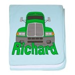 Trucker Richard baby blanket