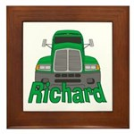 Trucker Richard Framed Tile