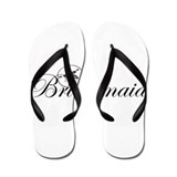 Sand Dollar Bridesmaid.png Flip Flops