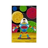 Astronaut &amp;amp; Mecha Robot Magnet (100 pack)