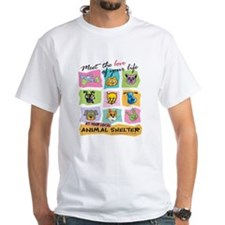 Unique Adopt pet adoption pets animal rescue Shirt
