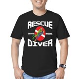 Cute Funny scuba diver T