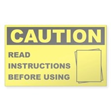 Caution Read Instructions Before Using