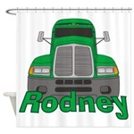 Trucker Rodney Shower Curtain