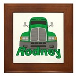 Trucker Rodney Framed Tile