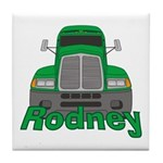 Trucker Rodney Tile Coaster