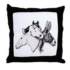 All Three.png Throw Pillow