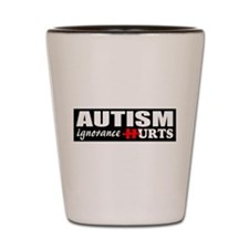 Autism support Shot Glass