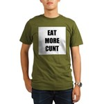 Eat More Organic Men's T-Shirt (dark)