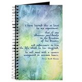 Inspirational Thoreau Quote Journal