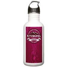 Kitzbühel Raspberry Water Bottle