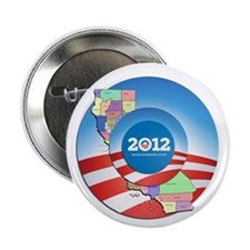 "California for Obama 2.25"" Button (100 pack)"