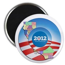 California for Obama Magnet