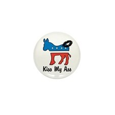 Kiss My Ass Mini Button (100 pack)